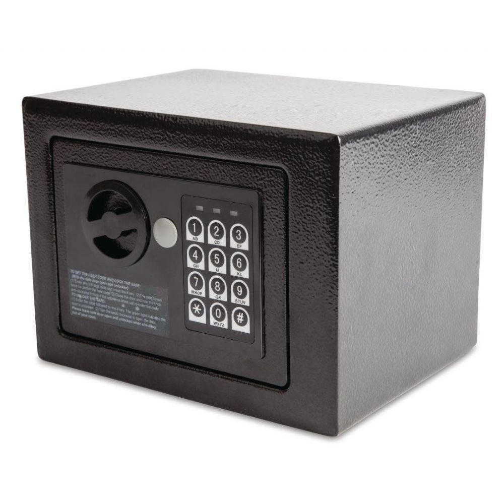 Bolero Mini Hotel Safe Black GC607